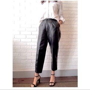 Vintage Bagatelle high waist leather pants